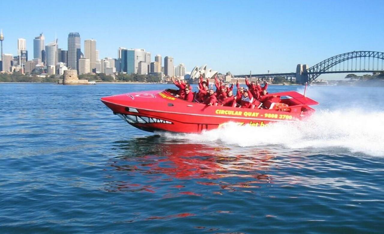 Take a Jet Boat Ride