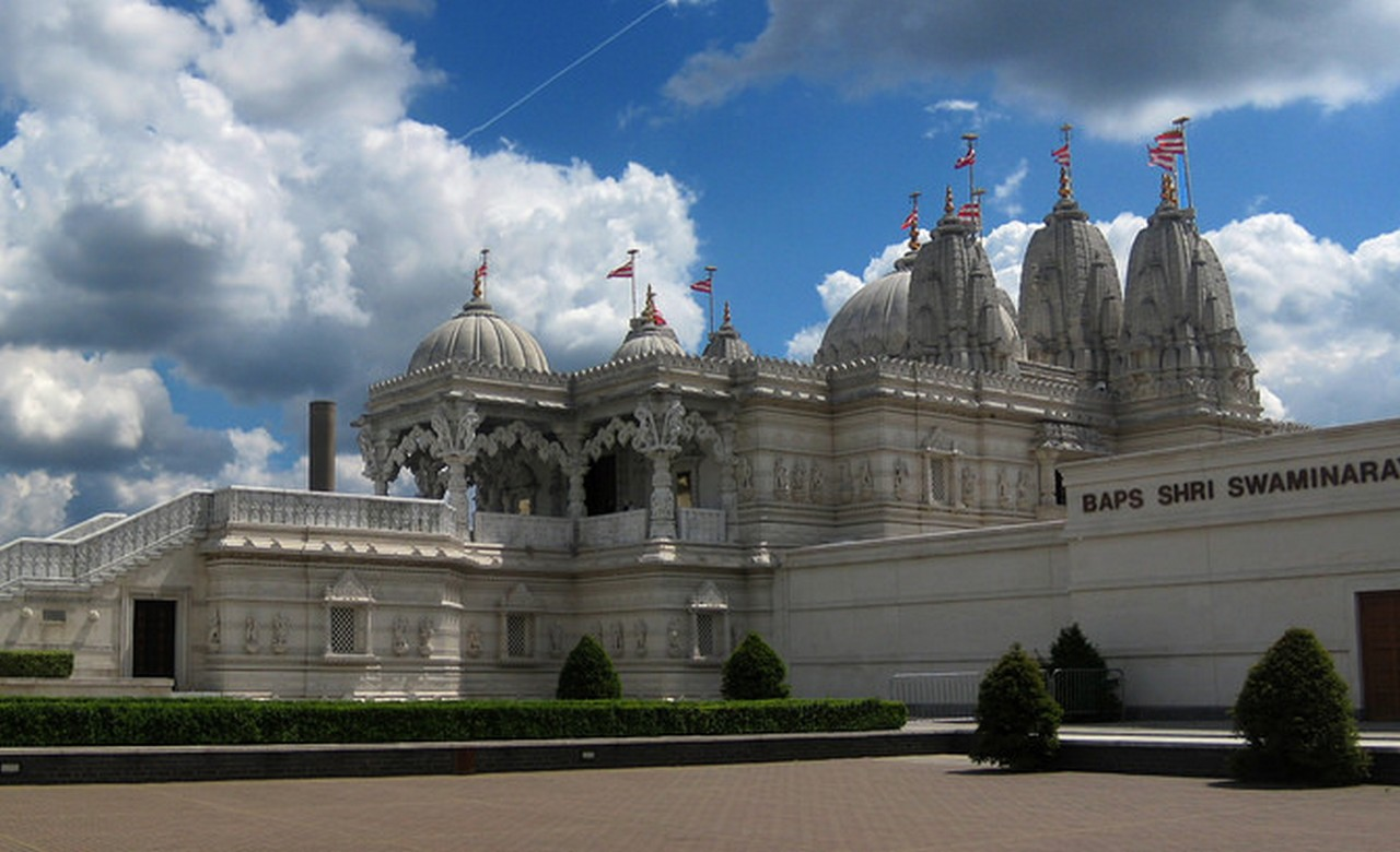 BAPS Shri Swaminarayan temple- London