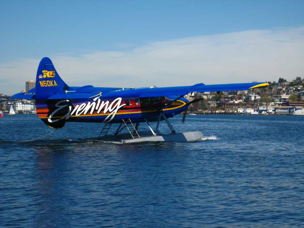 Float Plane at Lake Rotorua