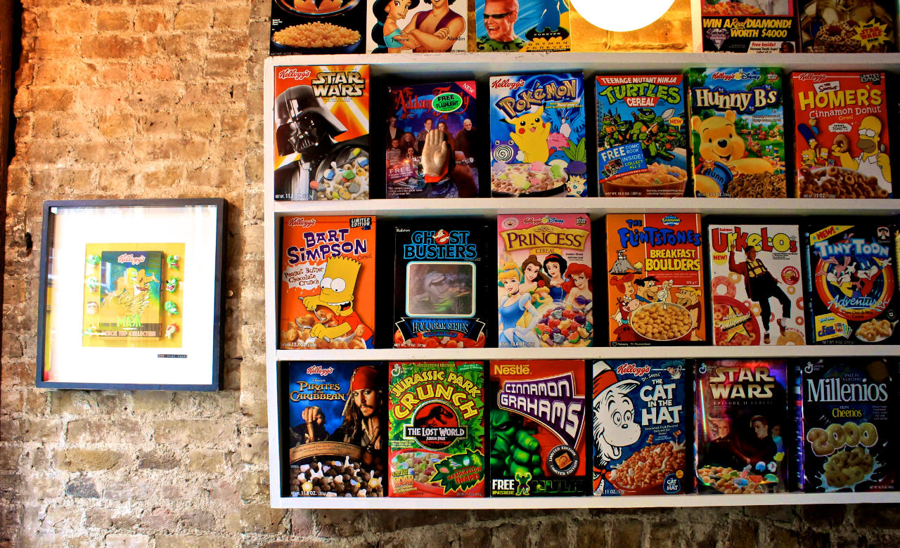 Cereal killer cafes