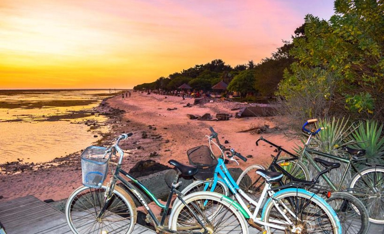 Cycling Tour Gili island