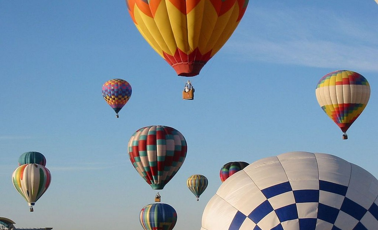 Hot Air Ballooning in Dambula