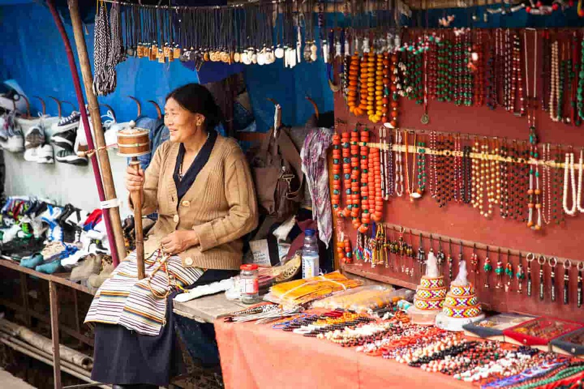 Shop From Local McLeod Ganj Market