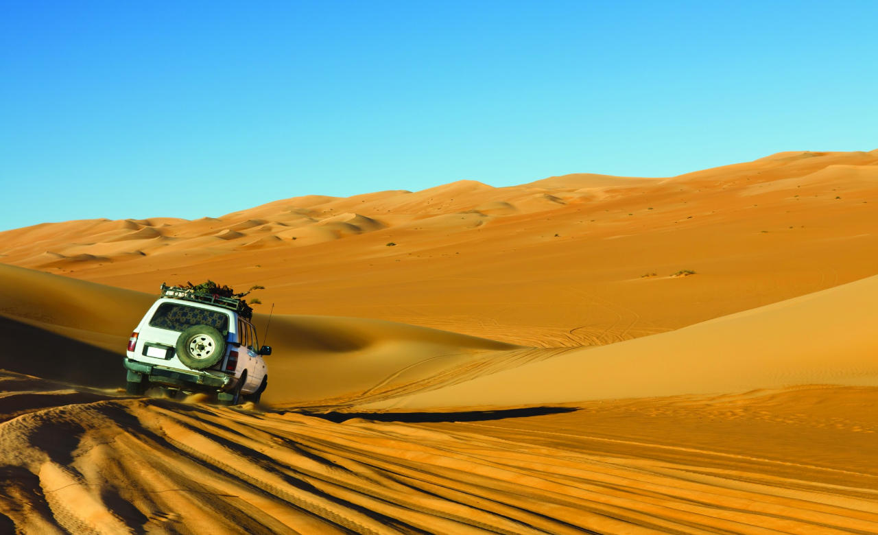 Dune bashing and beach hopping at Ras Al-Khaimah