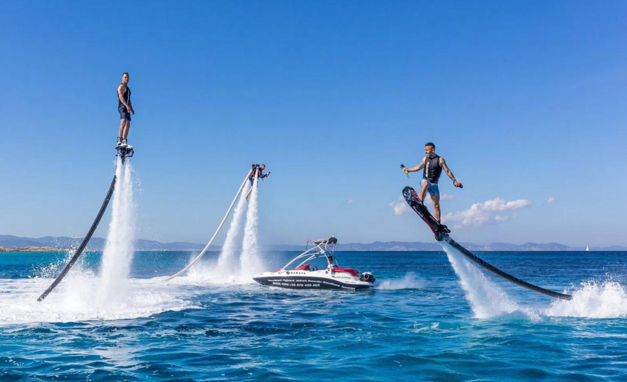 Flyboard like a Superhero in Koh Samui