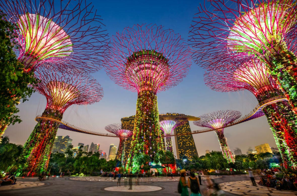 Check out Gardens by the bay