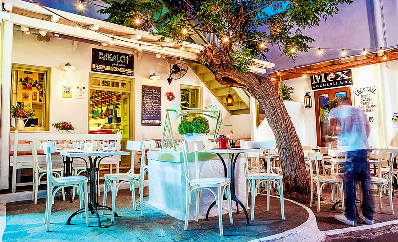 Greek Night at Mykonos taverna