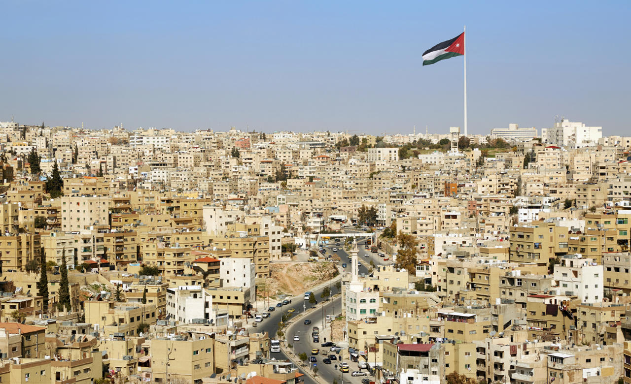 Guided tour of Amman