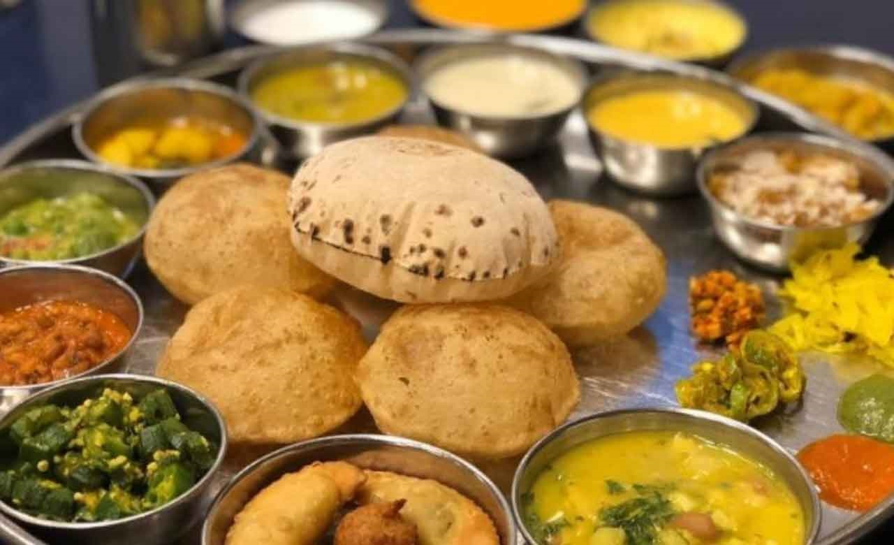 Gujarati dining experience in Ahmedabad