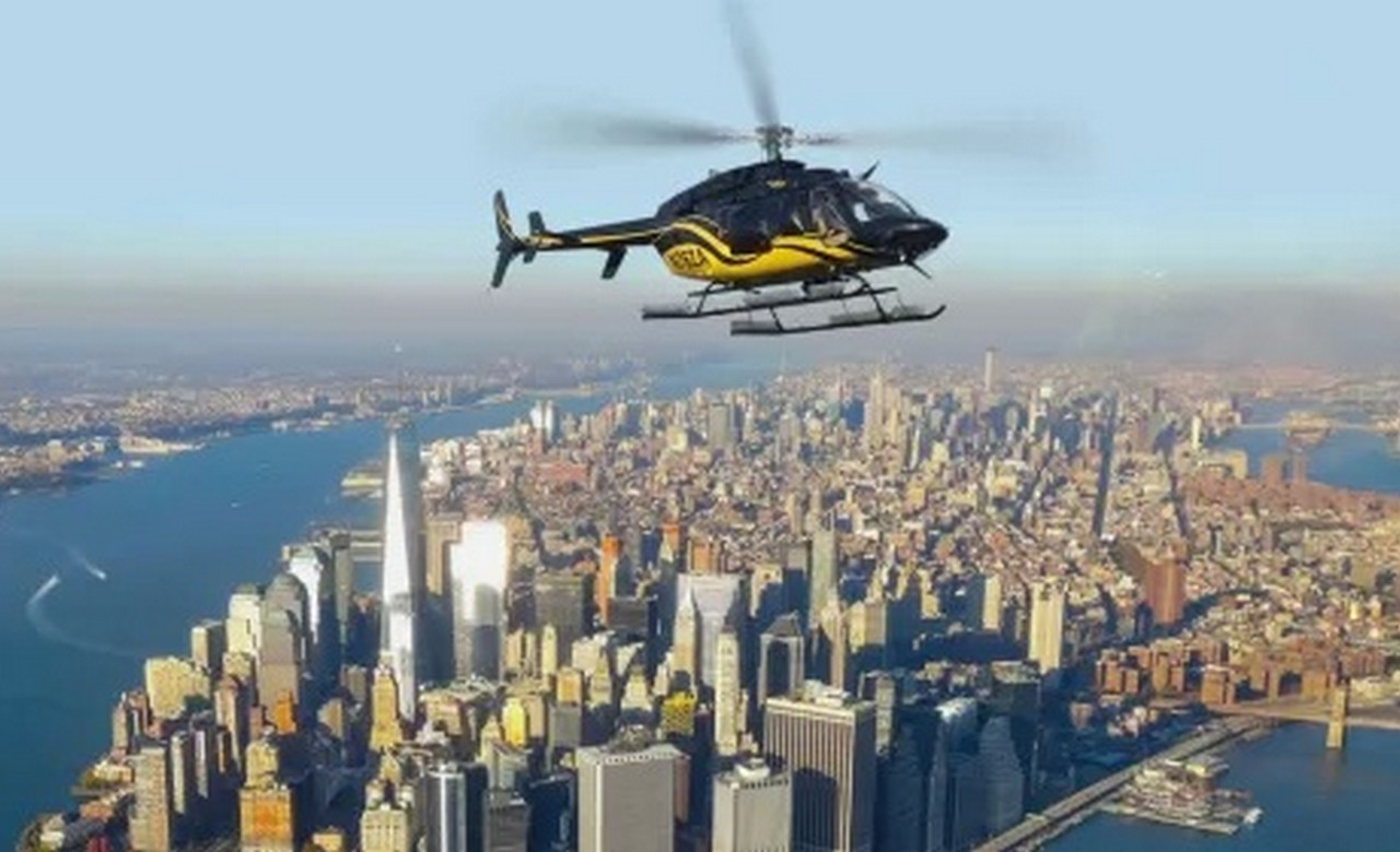 Helicopter Ride From manhattan