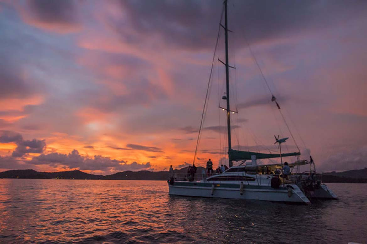 Enjoy a Sunset Dinner Cruise