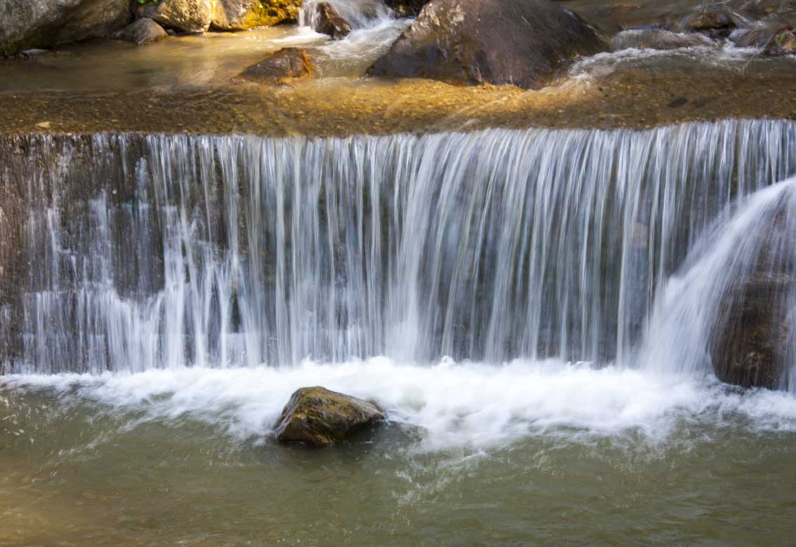 Jhakri Waterfall With Droul Chorthen
