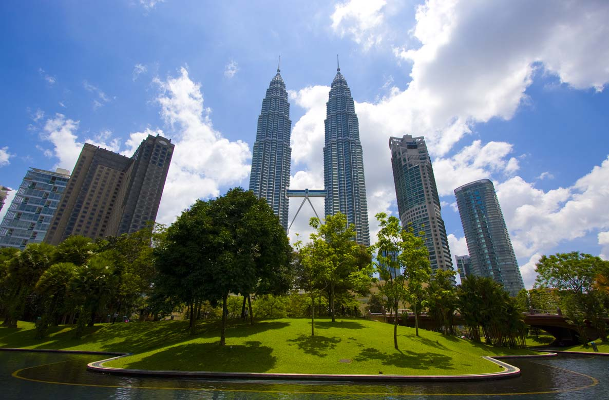 Take a stroll in KLCC Park