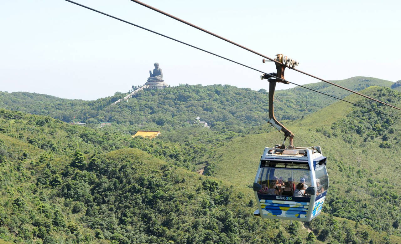 Lantau Island Half Day with Ngong Ping 360 Cable Car