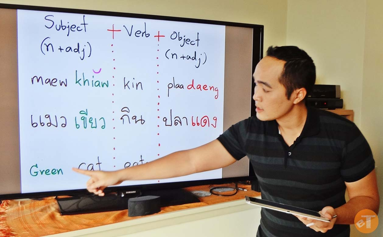 Take Thai language lessons