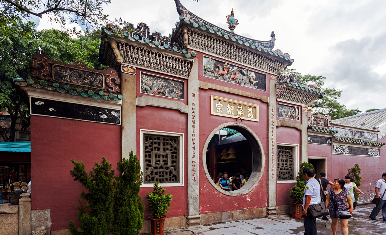 Macau-Chinese Temples