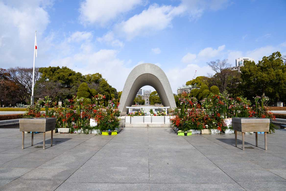 Peace Memorial Park & Museum and Atomic Bomb Dome