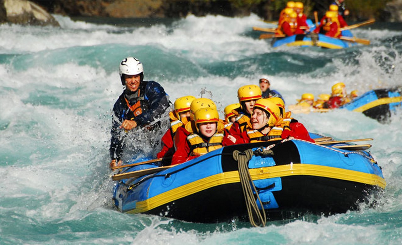Experience thrilling Rafting