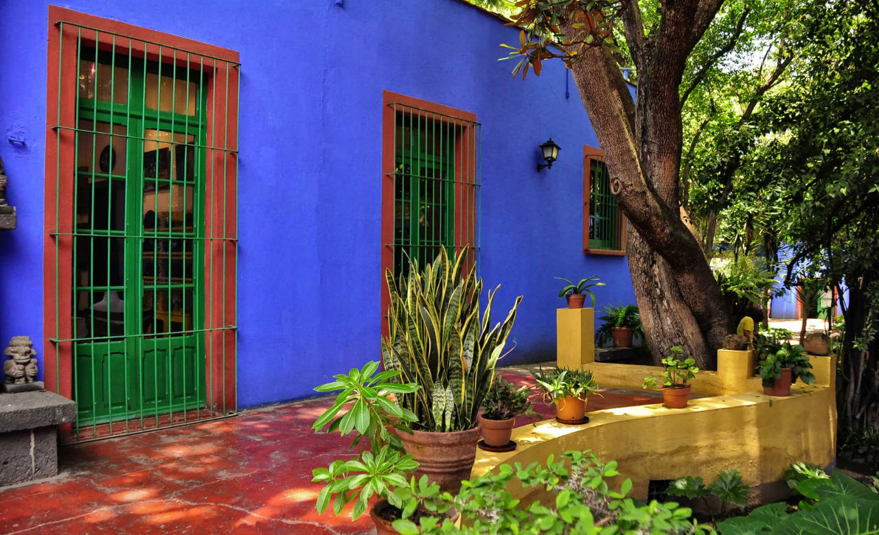 Frida Kahol's home turned museum