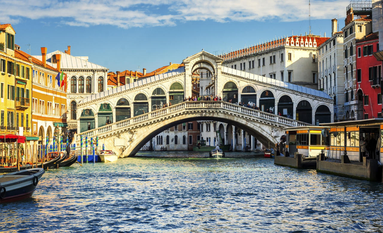 Oldest Rialto Bridge