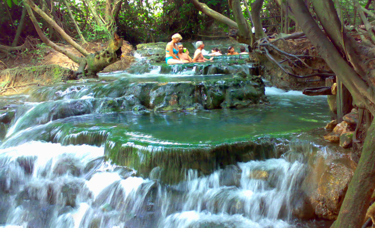 Take a Dip at Klong Thom Hot Springs