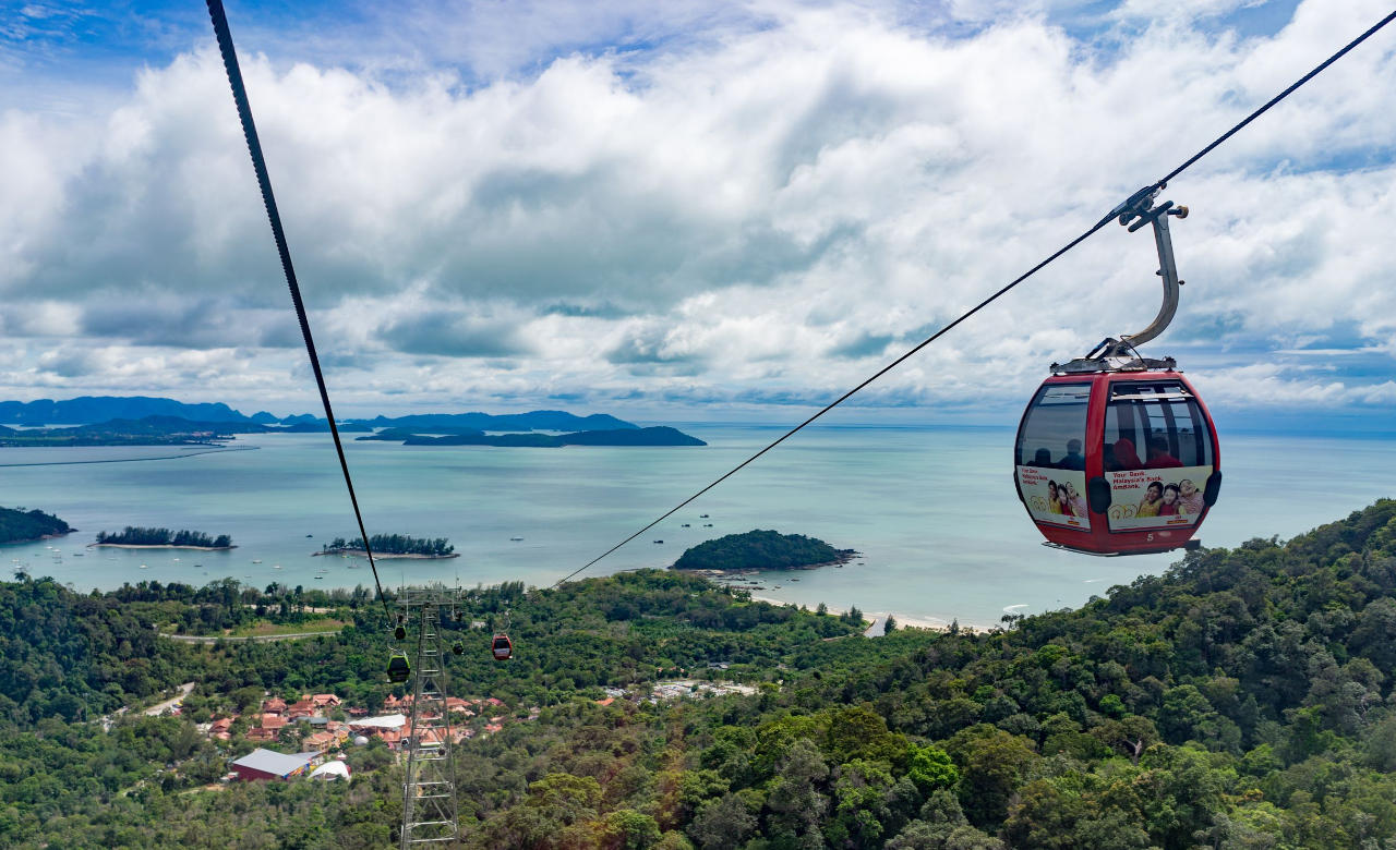 Take a ride on the Langkawi Cable Car