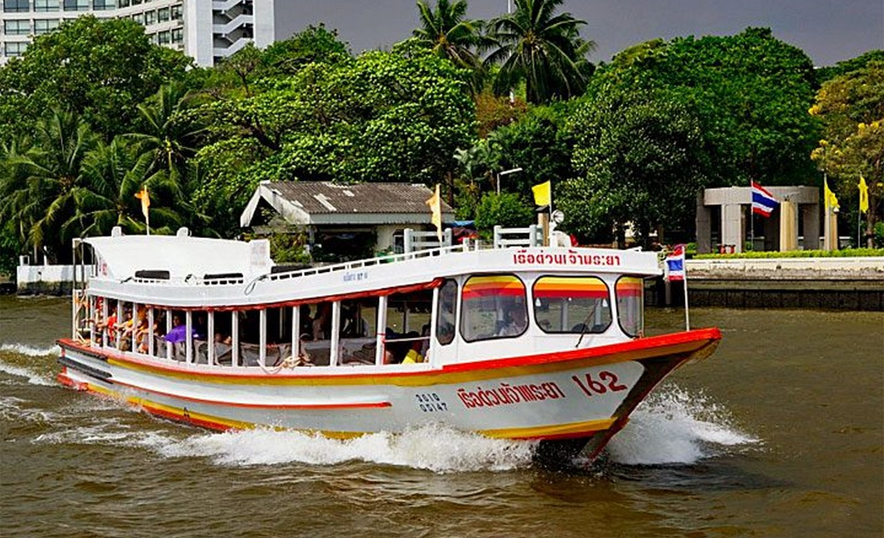 Take a water taxi in Bangkok