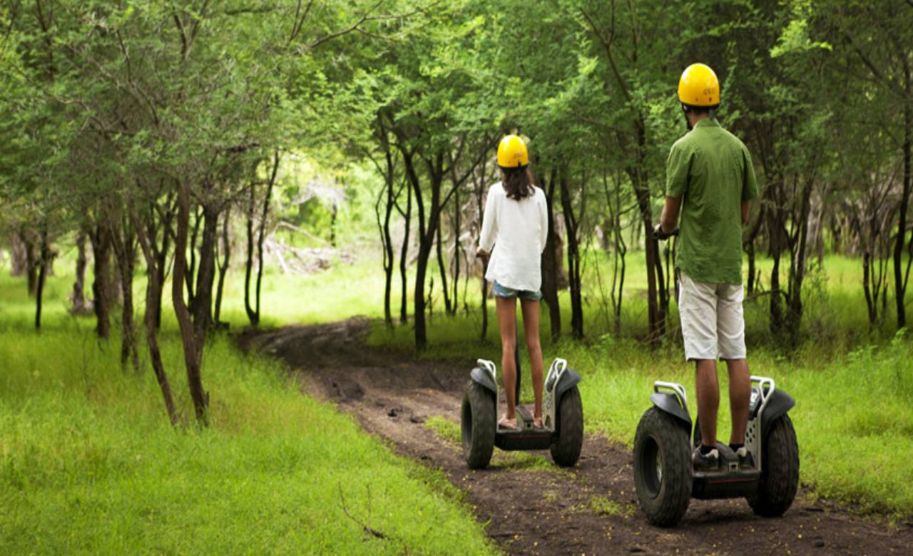 Casela Natural Park Segway tour