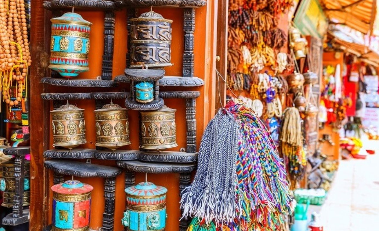 Visit Paro craft market