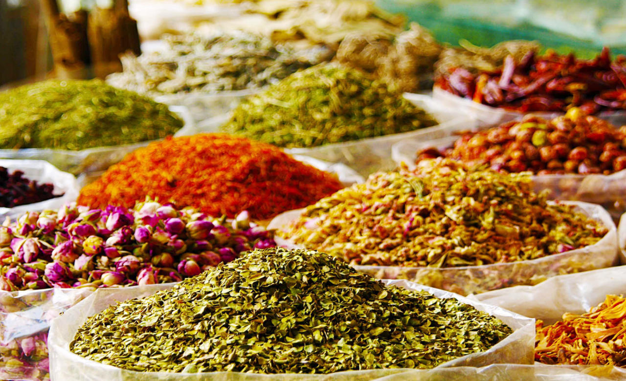 Visit the Gold and Spice Souks