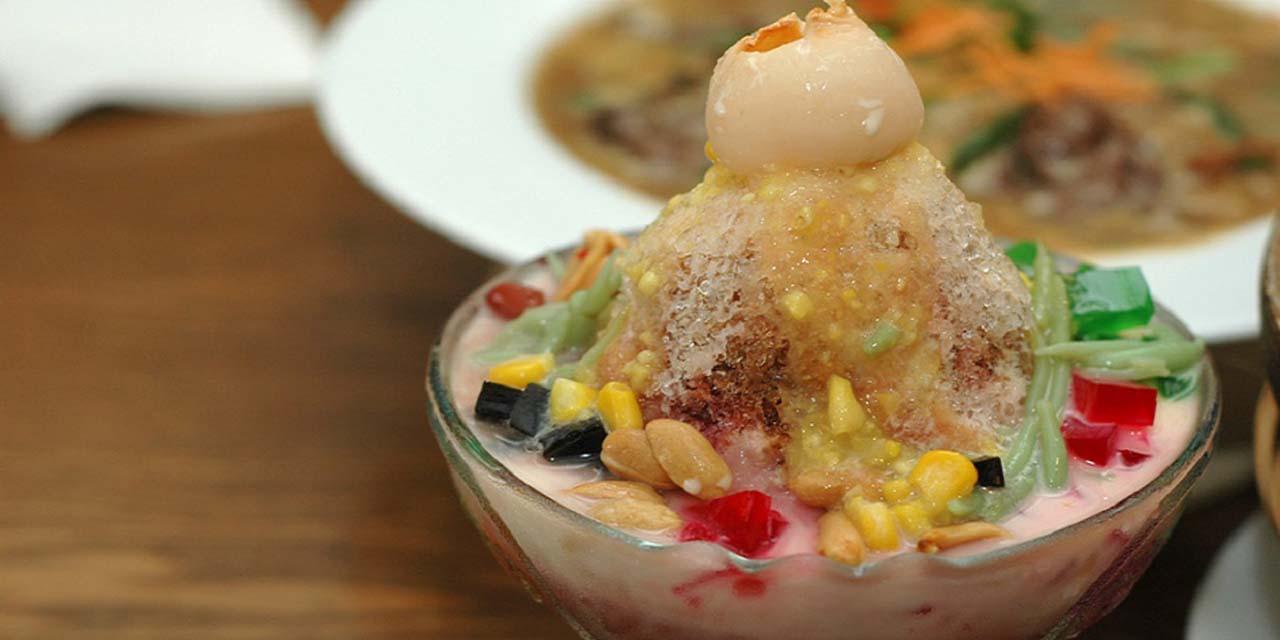 Malaysian Dessert Ais Kacang