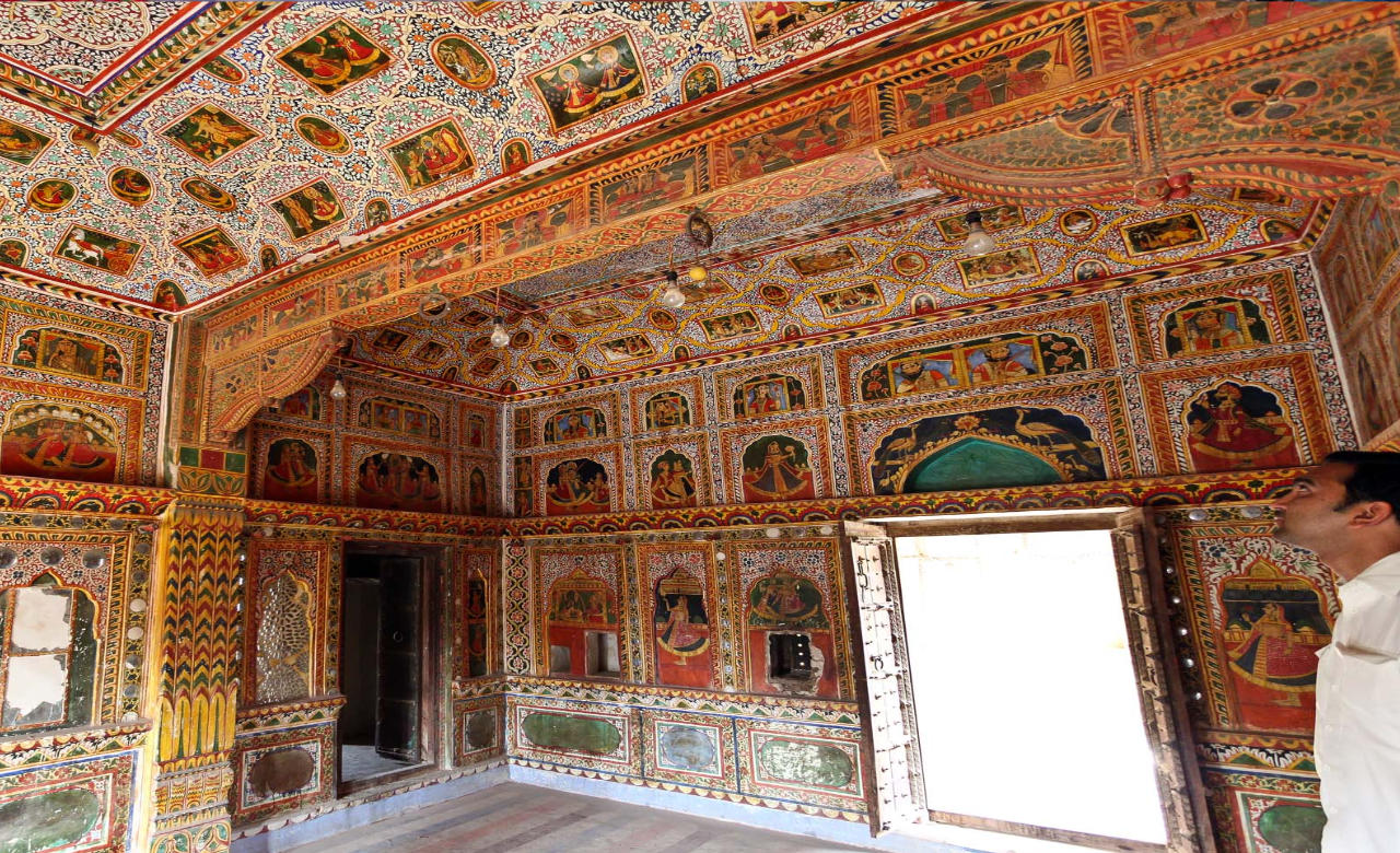Visit Open Art Gallery to View Best Paintings on Haveli's