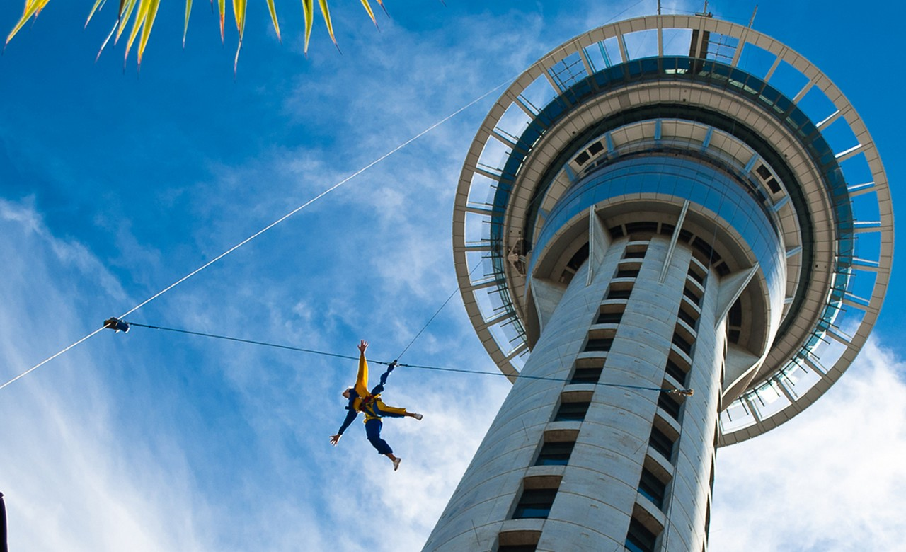 Leap off the Edge of the Sky Tower