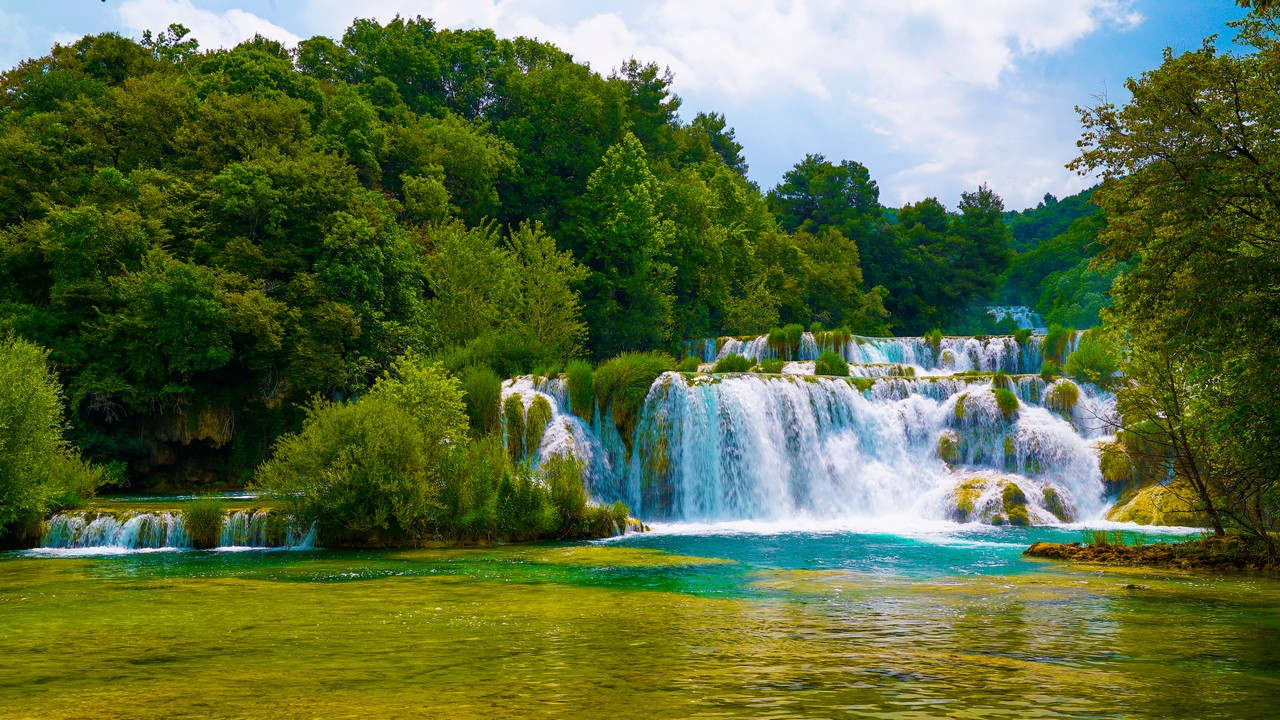 Krka Waterfalls Day Trip from Split