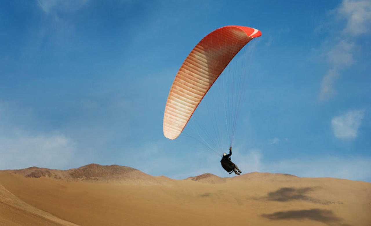 Enjoy The Thrill of Paragliding