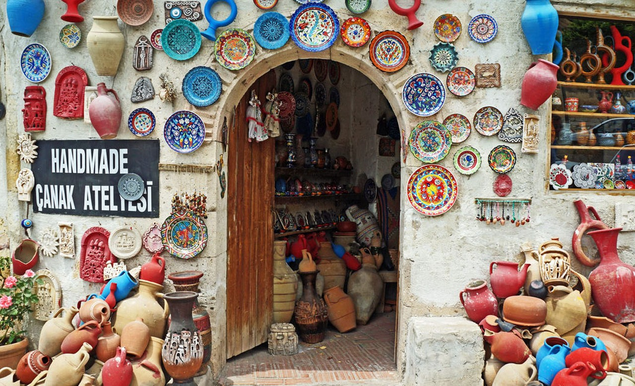 pottery house in Avanos