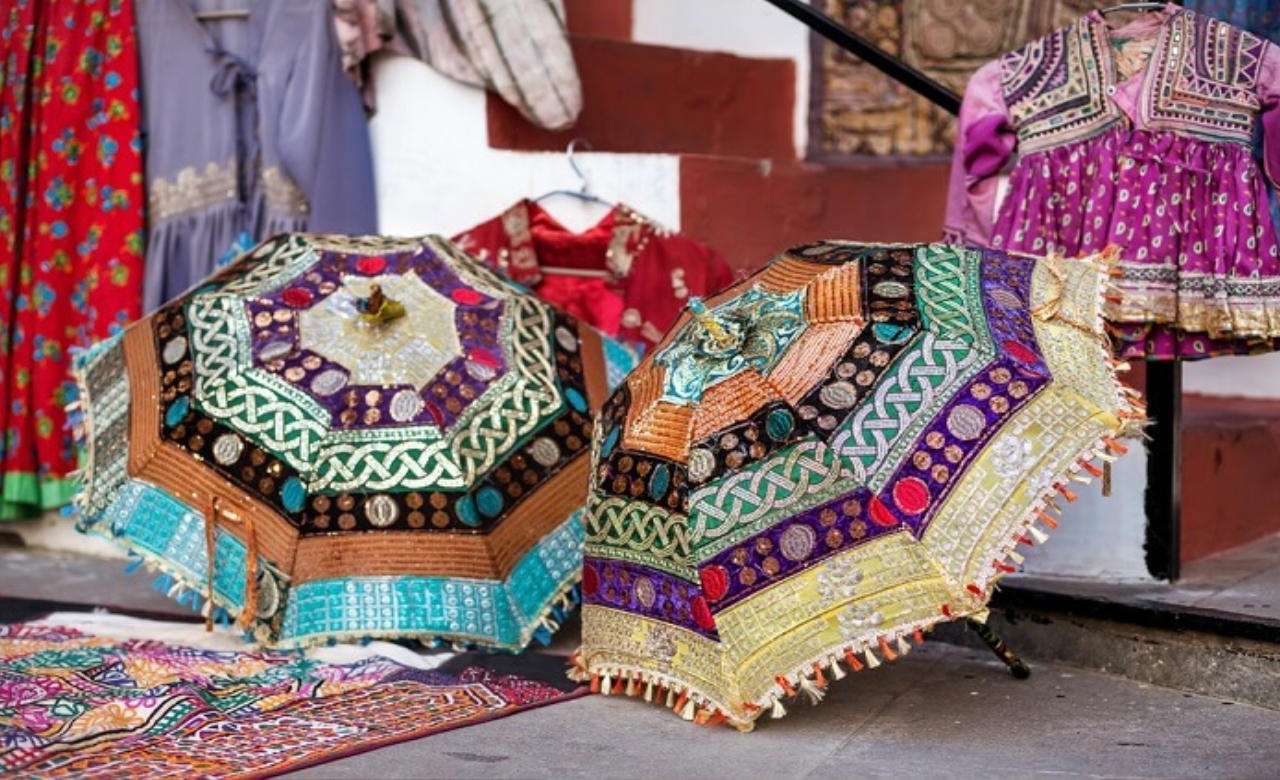 Stop by The Rajasthani Handicraft Emporium
