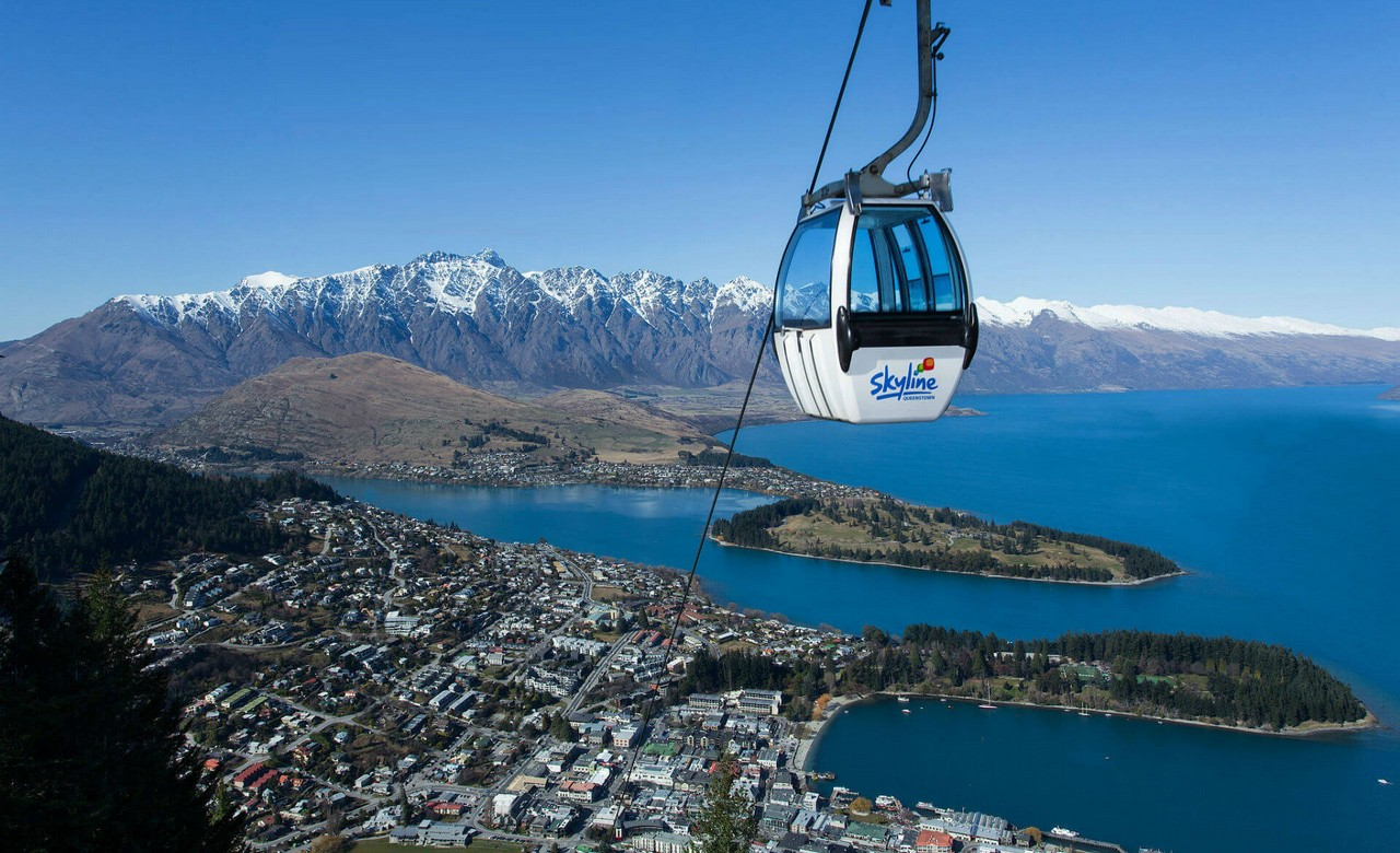 Hike up the New Zealand Skyline and Take the Gondola down