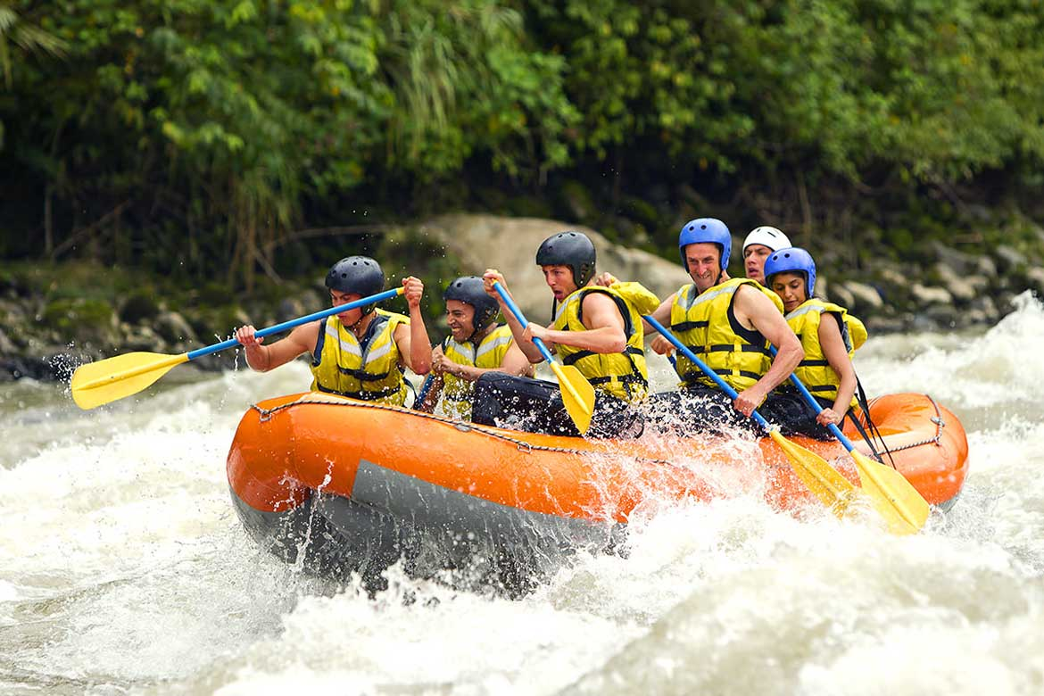 Ayung river water rafting 4