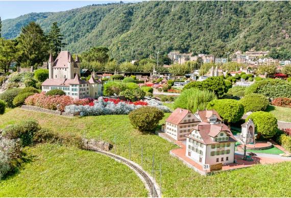 Entrance To Swiss Miniature