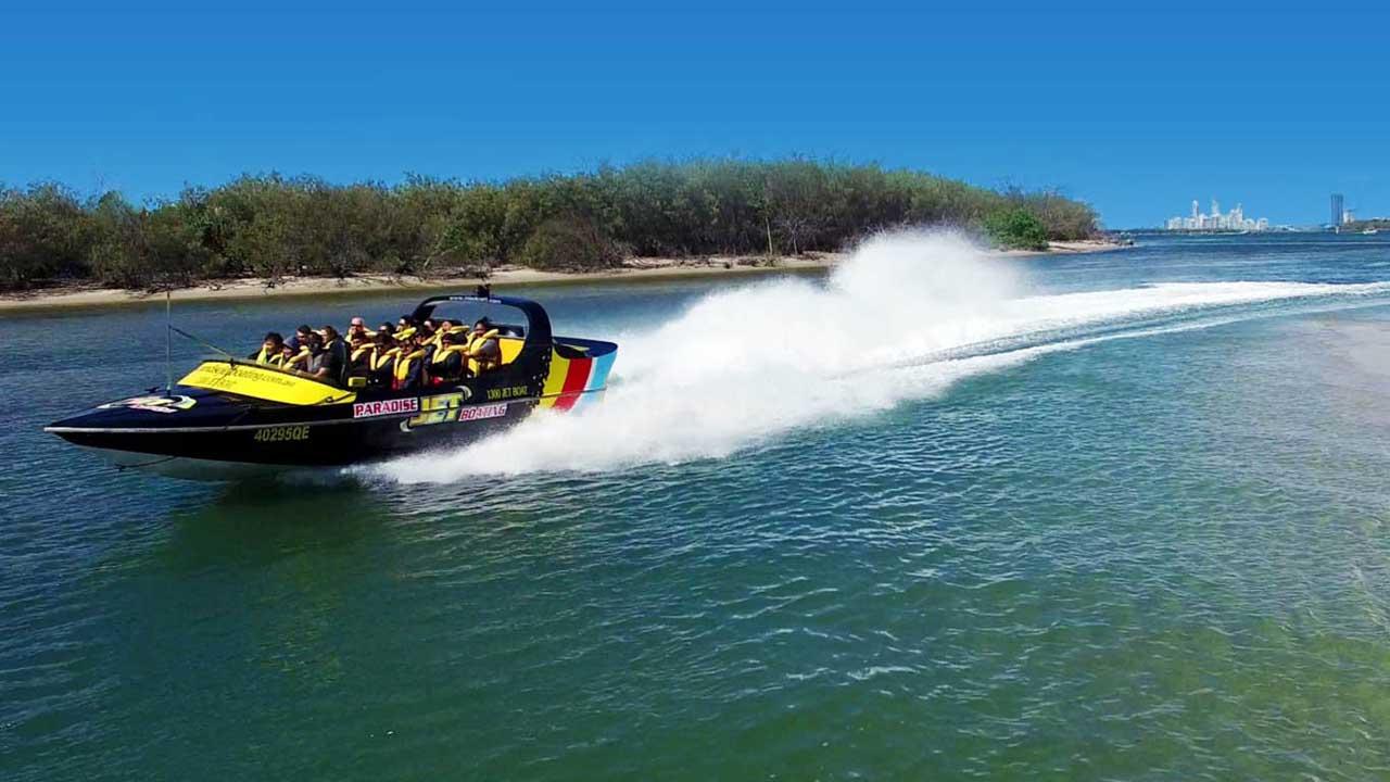 Jet Boating Gold Coast 3