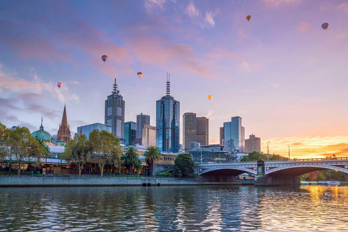 Melbourne banner