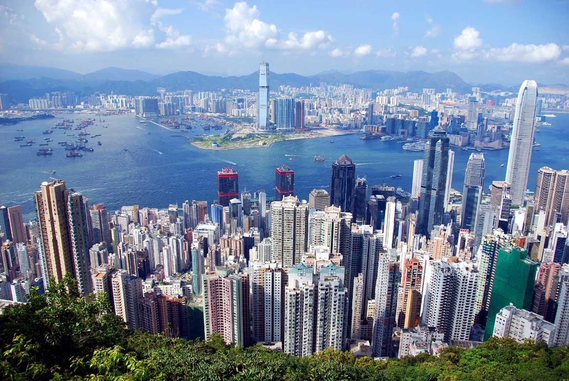 Hong Kong City View