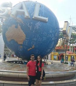 Singapore and Bali Honeymoon Trip