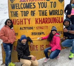 We really enjoyed ourselves a lot at Ladakh